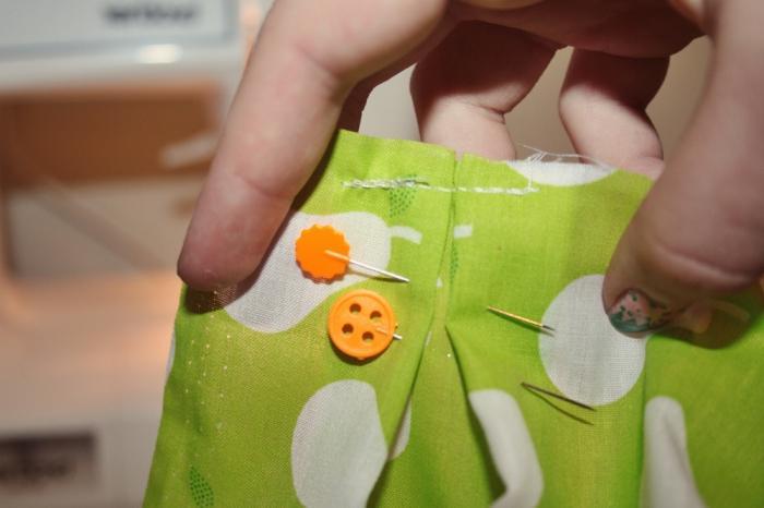 как сшить юбку в складку