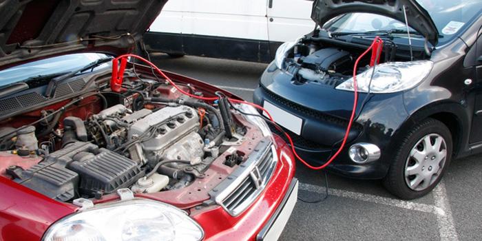 АКБ, зарядка от другого авто