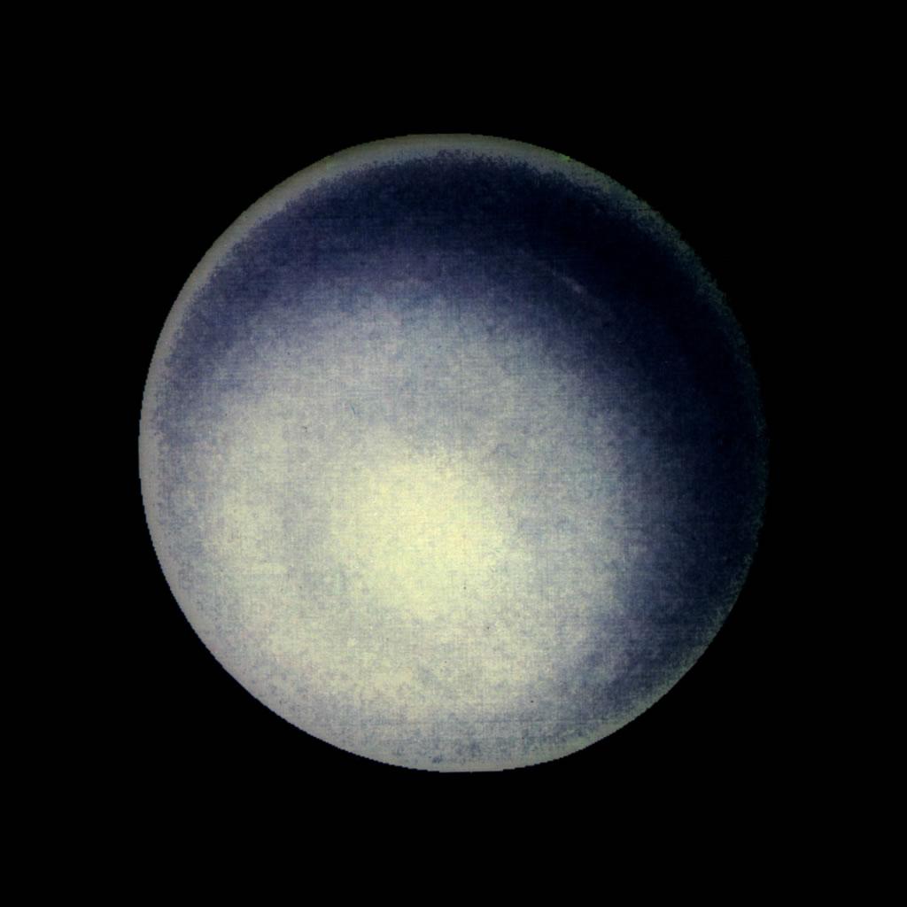 Uranus in outer space.