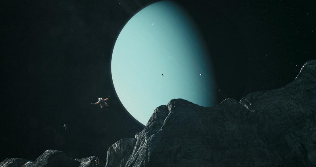 The moon reflects the power of Uranus