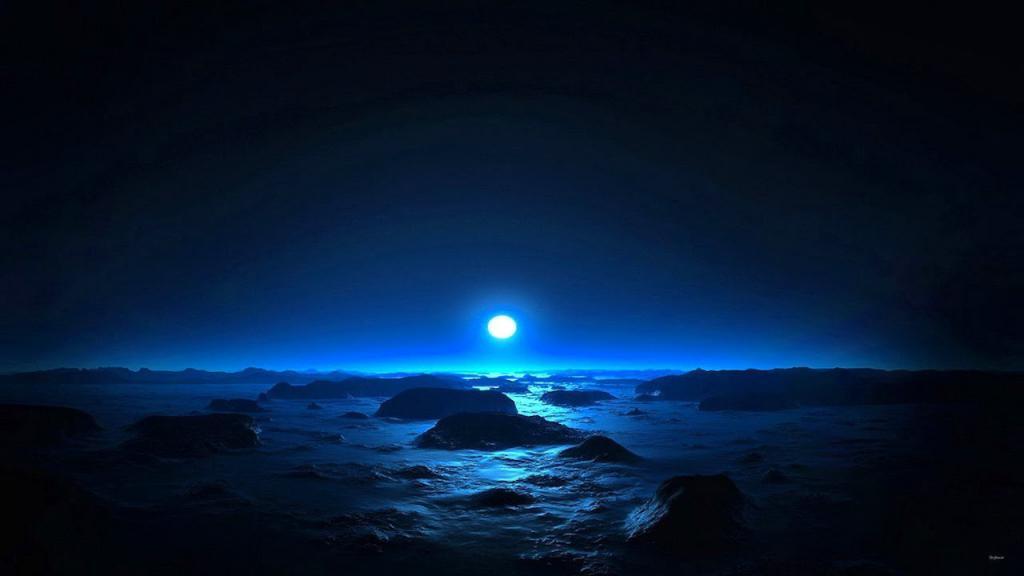 Предполагаемая поверхность Нептуна.