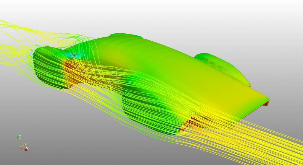 Аэродинамика машины