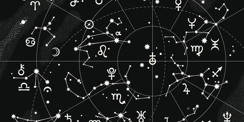 Zodiac constellations.