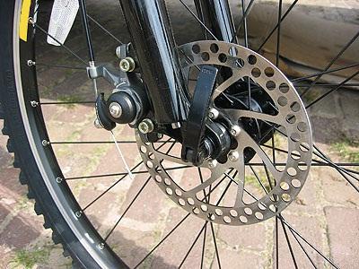 Дисковые тормоза на велосипеде
