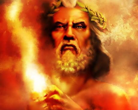 """Предпросмотр схемы вышивки  """"Бог Зевс """".  Бог Зевс, боги древней греции."""