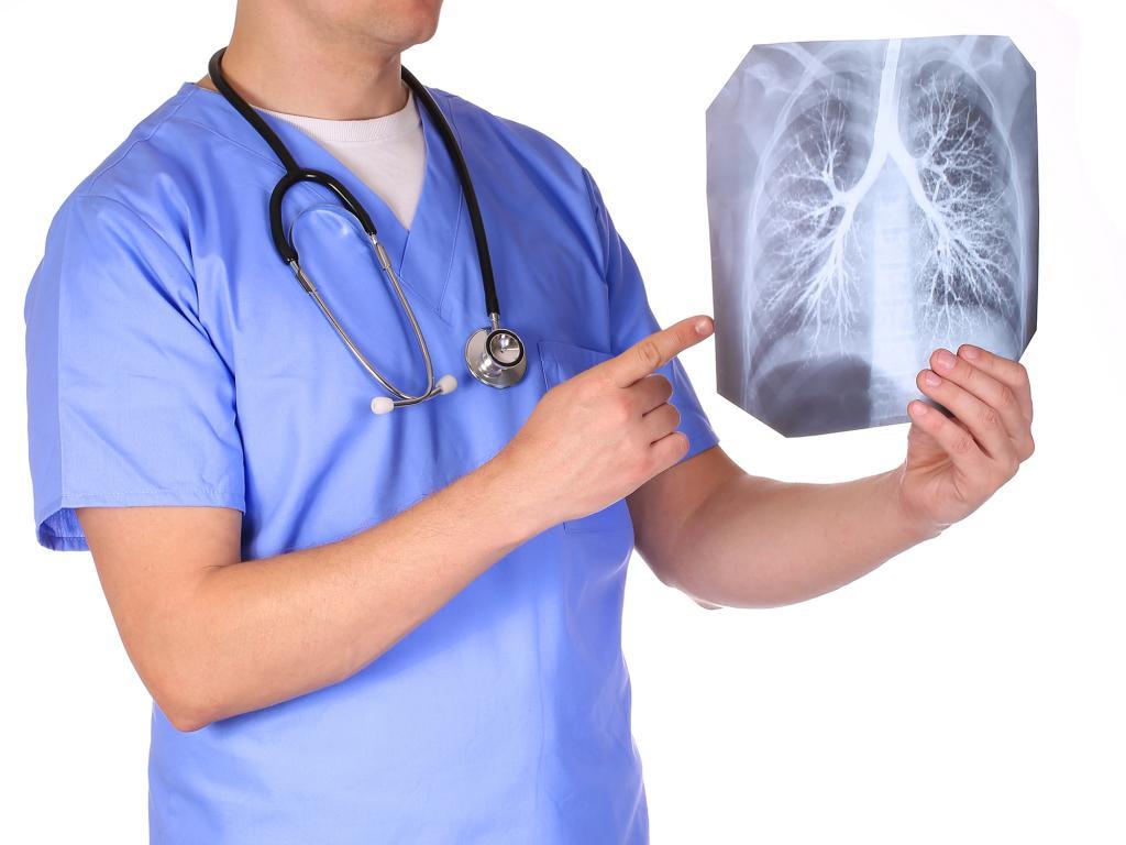 Рентген - диагностика бронхита