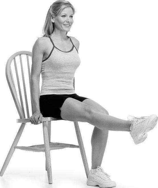 Упражнения для пресса на стуле: правила выполнения, результаты