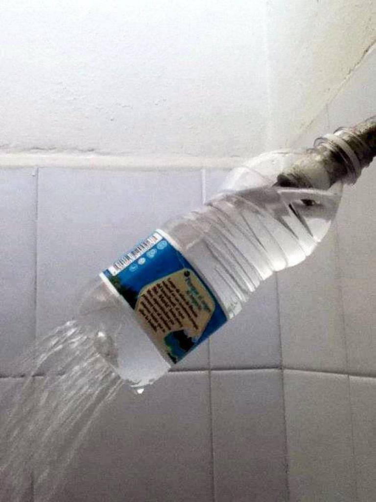 Holey bottle