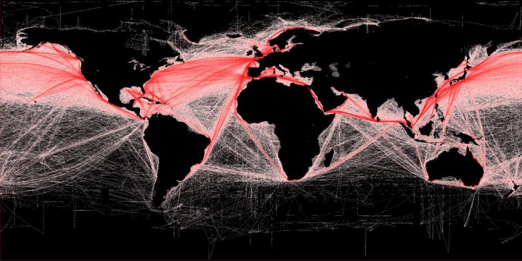 Shipping chart
