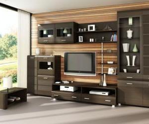 Модульные системы для гостиной — мебель XXI века