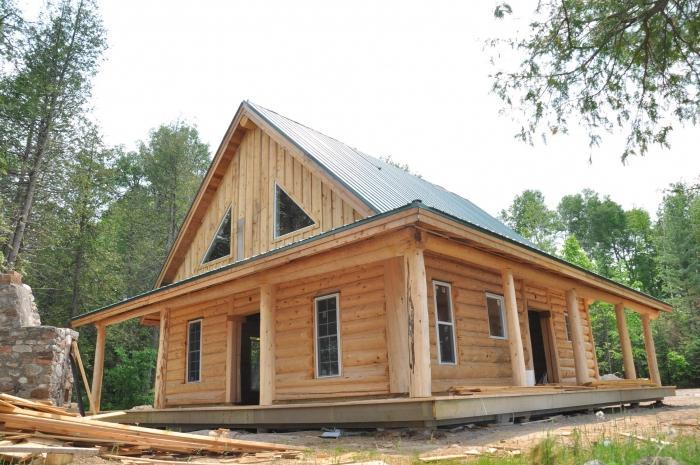 Строительство дома из бруса своими руками
