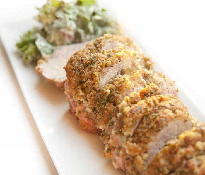 Рецепты с духовой свининой