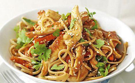 Китайская лапша с овощами рецепт