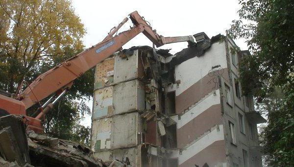 Снос пятиэтажек в Москве   BBC