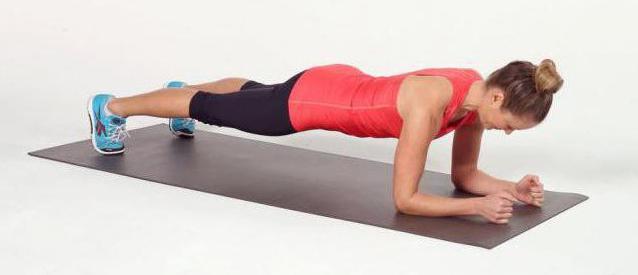упражнение сотня планка