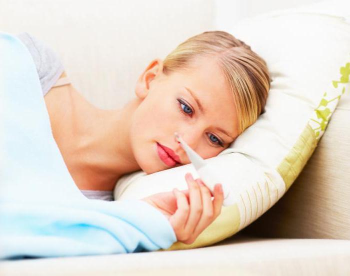 температура после прививки от гриппа