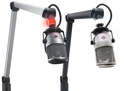 пантограф для микрофона