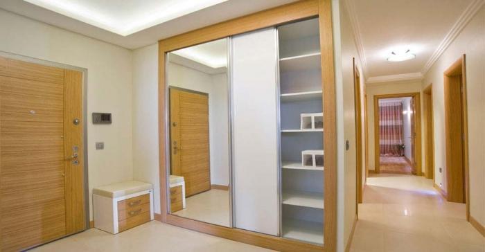 Сборка дверей шкафа купе