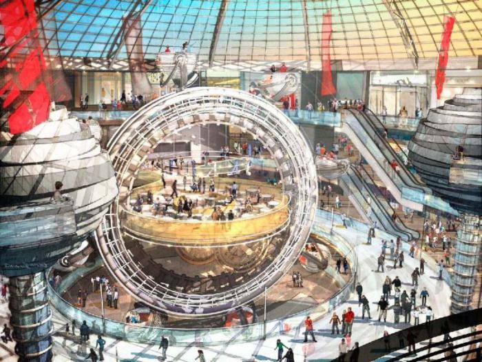 Vegas торговый центр