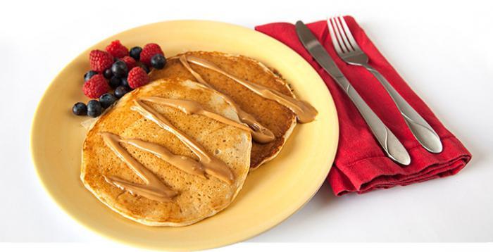 Pancake dengan pisang
