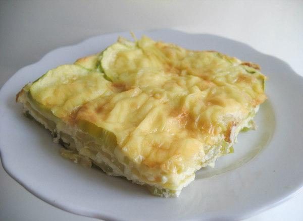 Омлет с кабачками рецепт