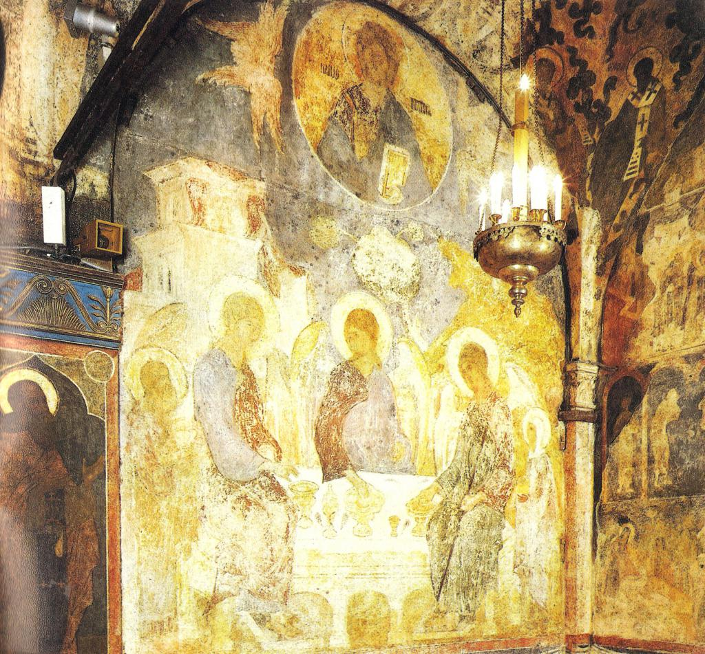 The murals of Theophanes the Greek