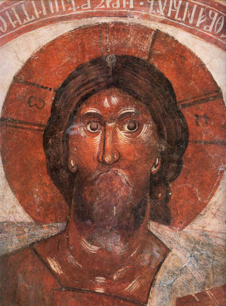 The famous mural Pantocrator