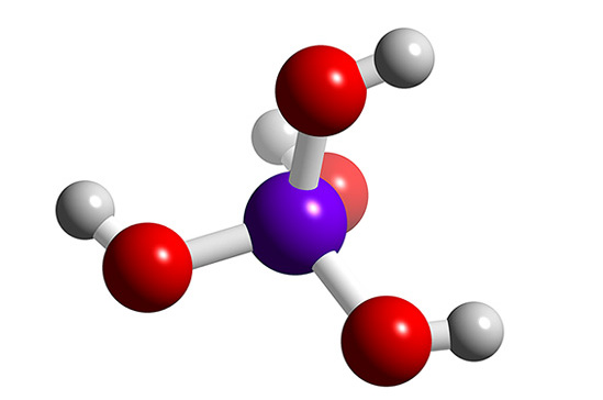 Структура кремниевой кислоты