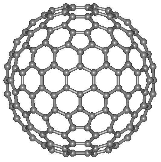 Структурная формула технического углерода