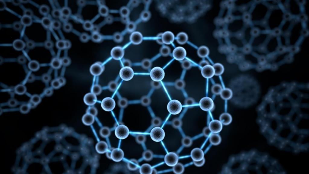 The structural formula of carbon black