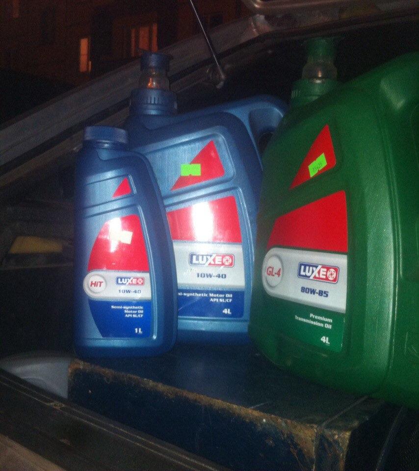 Моторные масла Luxe: классификация