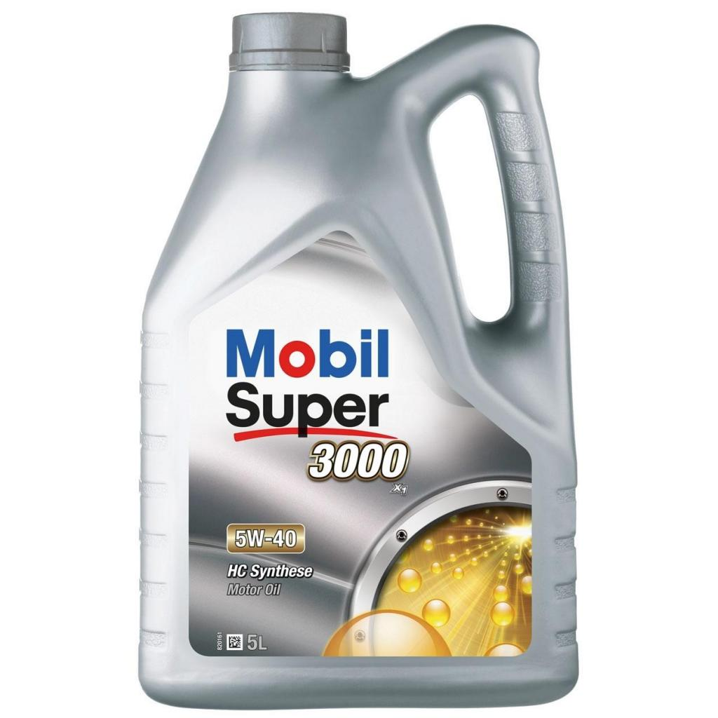 Моторное масло 5W40 Mobil Super 3000 X1: описание и отзывы