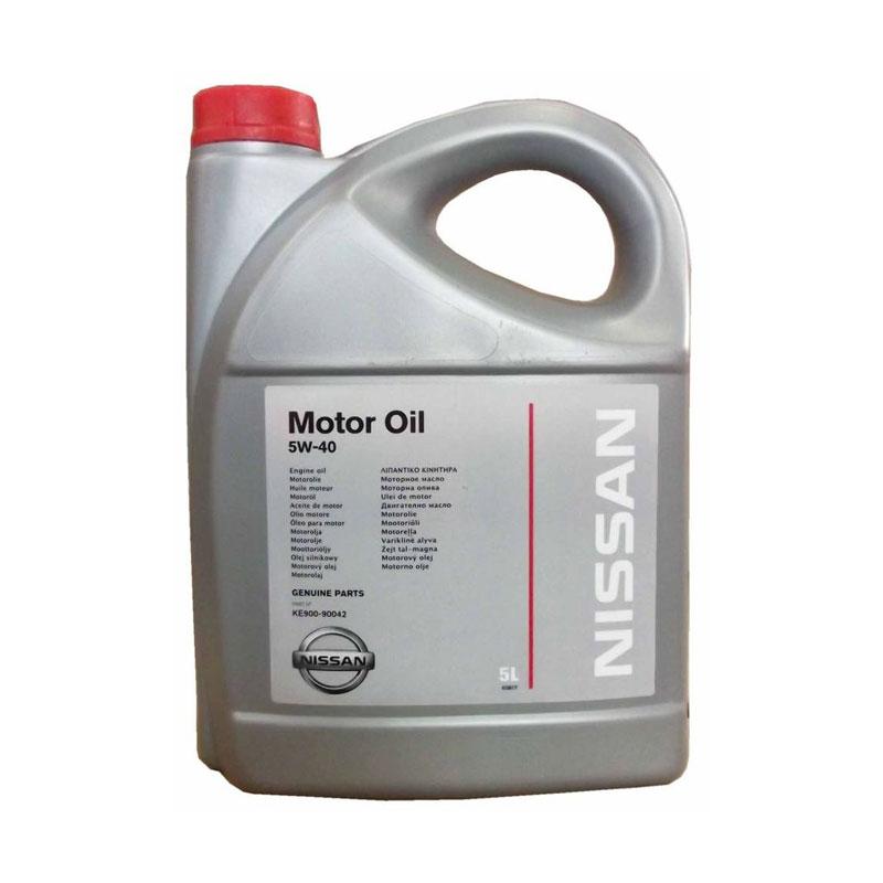 Моторное масло Nissan 5W40