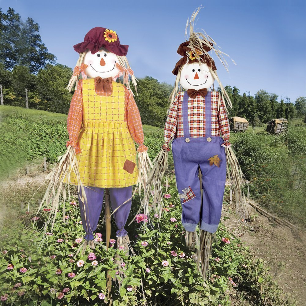 материала, чучело в огород своими руками фото помощью шаблона