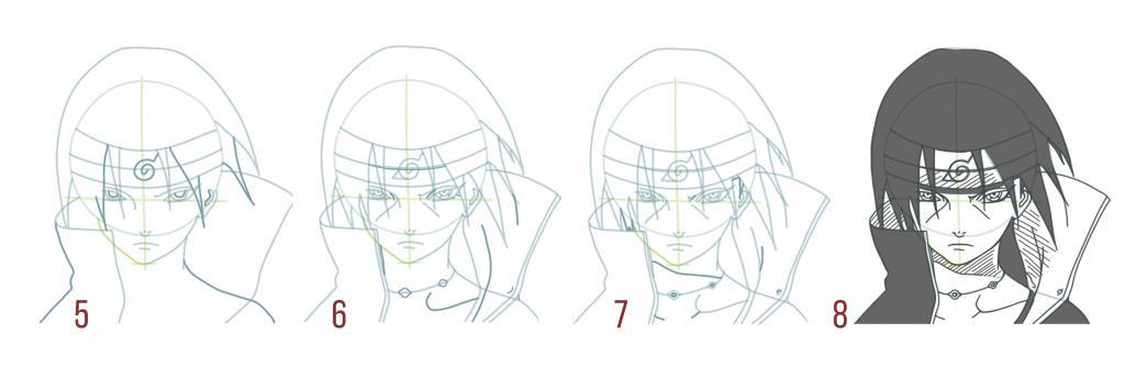 Itachi stages 5-8