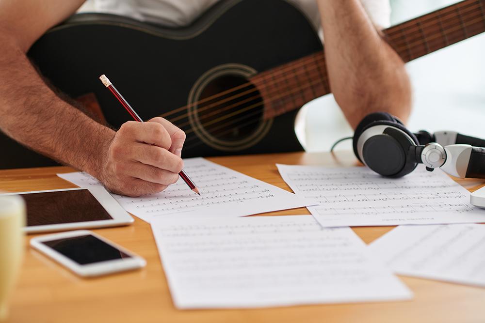 после пишу музыку картинки его изготовления нужно