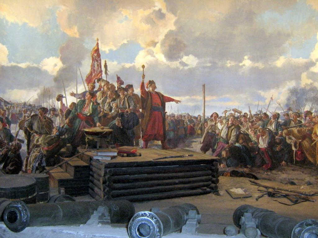 The past of the Cossacks