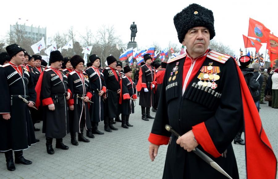 Modern Kuban Cossacks