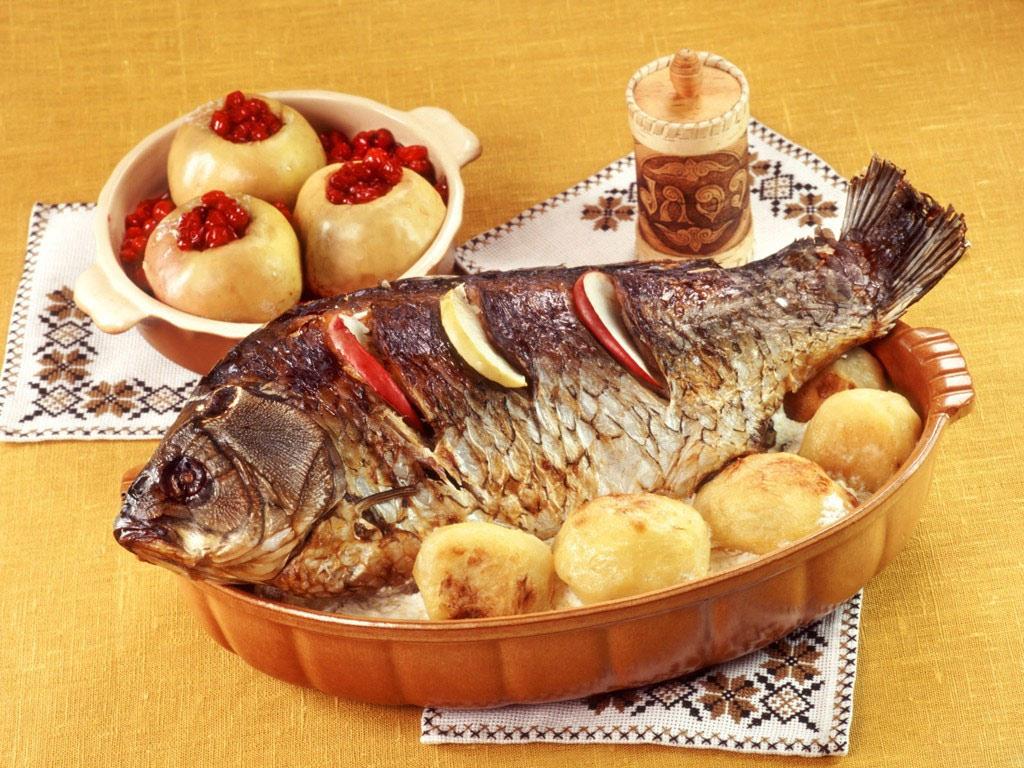 Средне жирная рыба