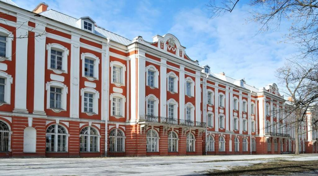 The building of St. Petersburg State University