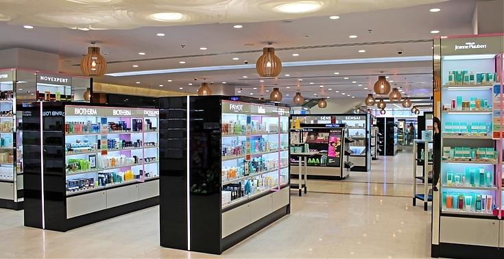 rive gosh stores in Moscow metro