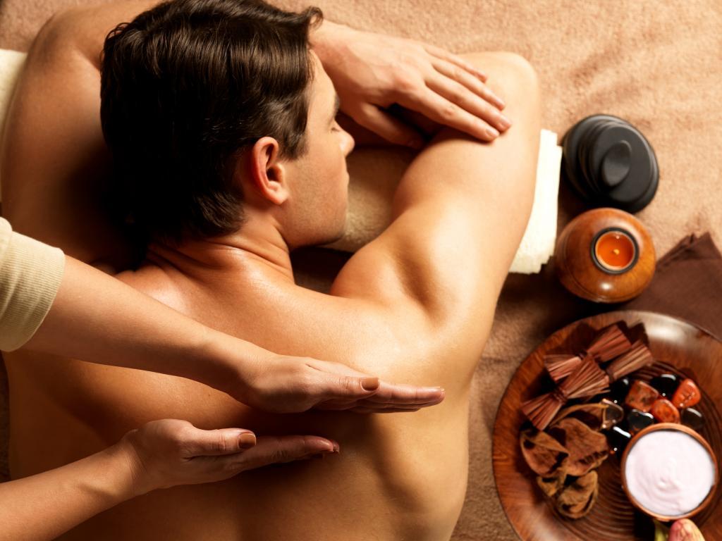 Массаж и ароматерапия