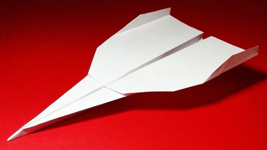 фото бумажного самолетика русский князь