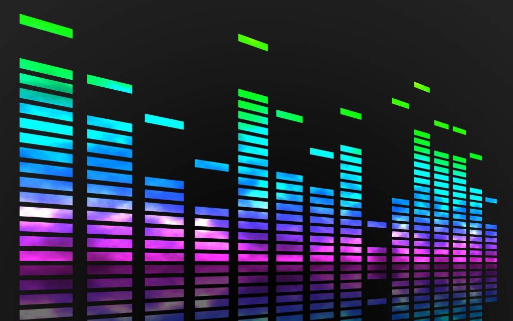 Музыкальная визуализация для красивого вида