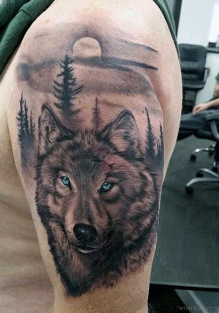 """Татуировка волка на груди: виды и значение. Тату """"оскал волка"""""""