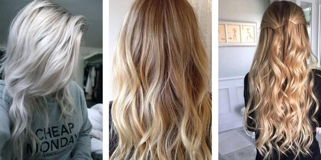 в какой цвет покрасить кончики русых волос