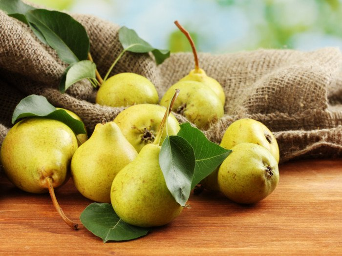 The benefits of pears