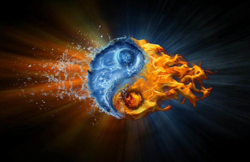 Water Yang and Fire Yang