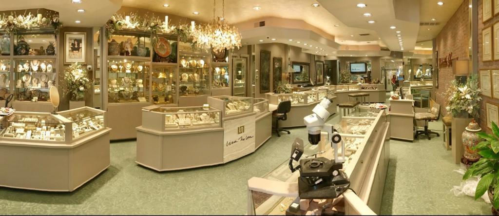 Магазин бриллиантов