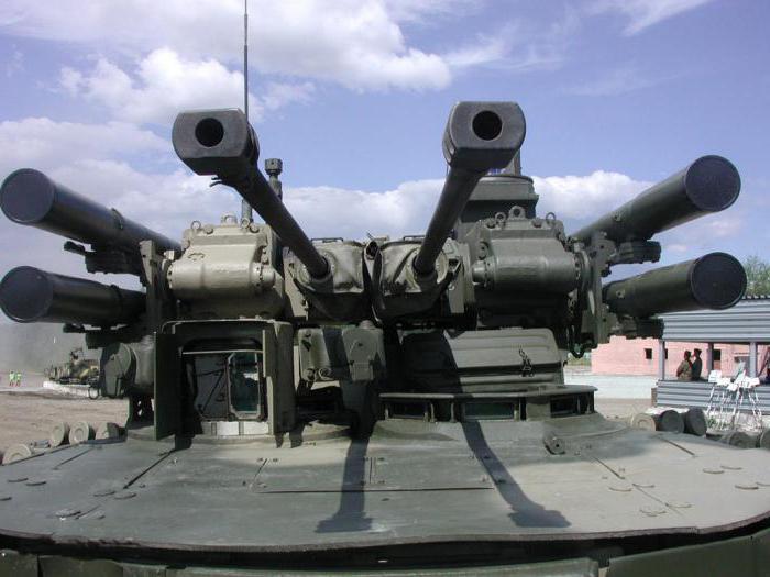 Боевая машина поддержки «Терминатор». БМПТ «Терминатор»: описание…